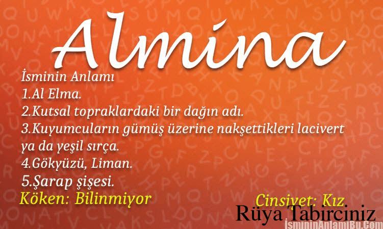Elmina isminin anlamı