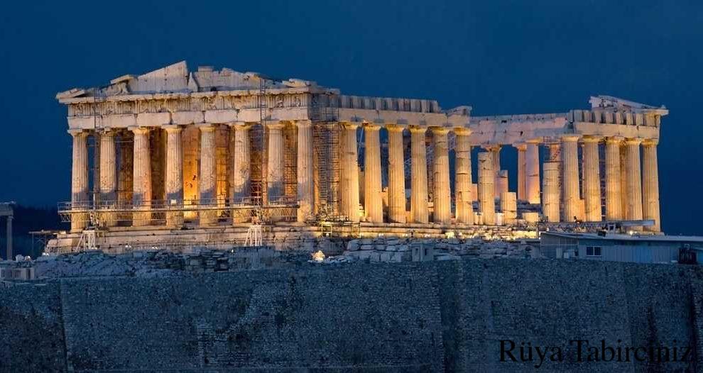 Rüyada akropol görmek