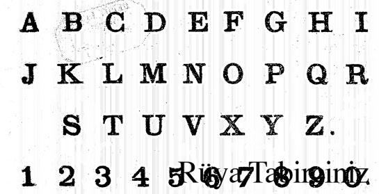 Rüyada alfabe görmek