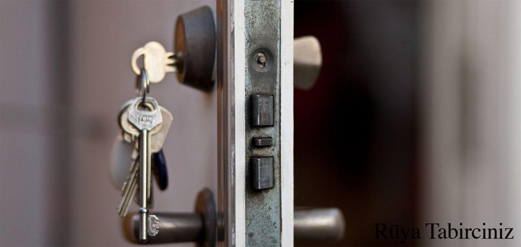 Rüyada anahtar ile kapı açmak