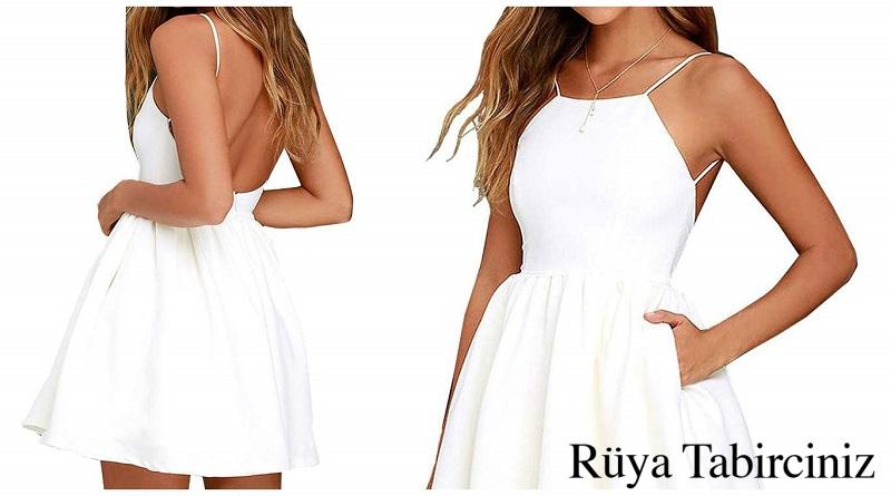 Rüyada beyaz görmek ( rüyada beyaz elbise giymek )