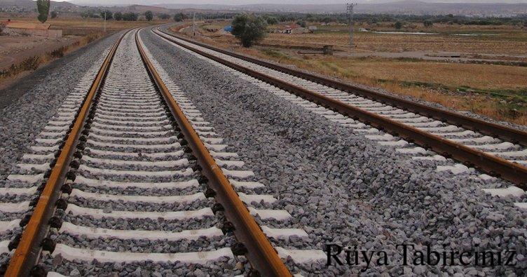 Rüyada demiryolu