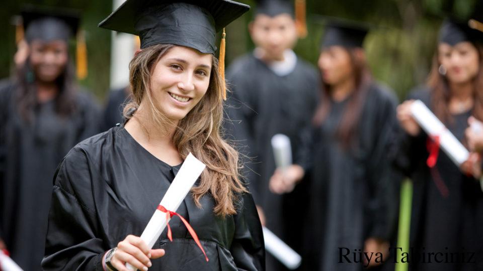 Rüyada diploma almak