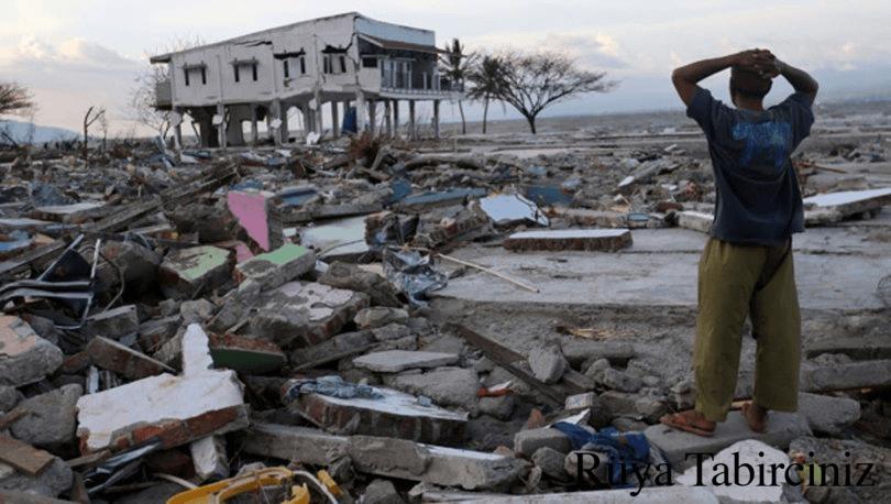 Rüyada doğal afetleri görmek