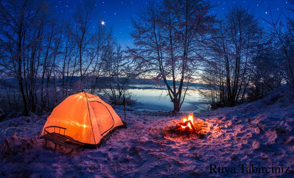 Rüyada kamp yapmak