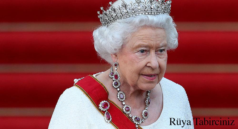 Rüyada kraliçe görmek