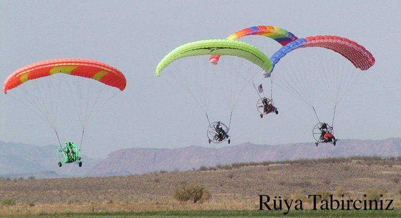 Rüyada paraşütle uçmak