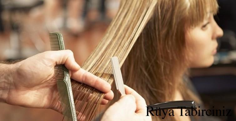Rüyada saç kestirmek
