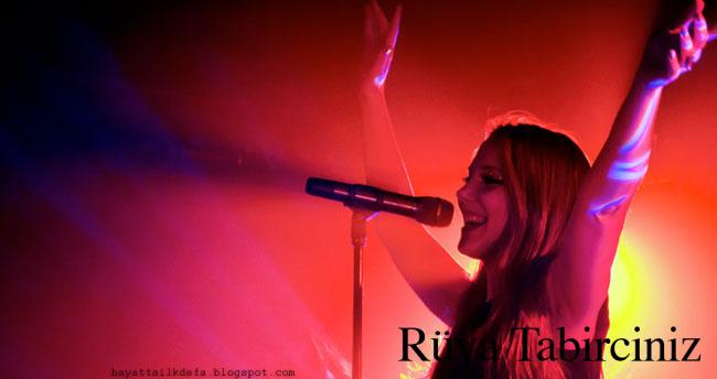 Rüyada şarkı söylemek