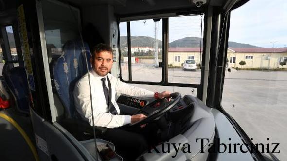 Rüyada şoför
