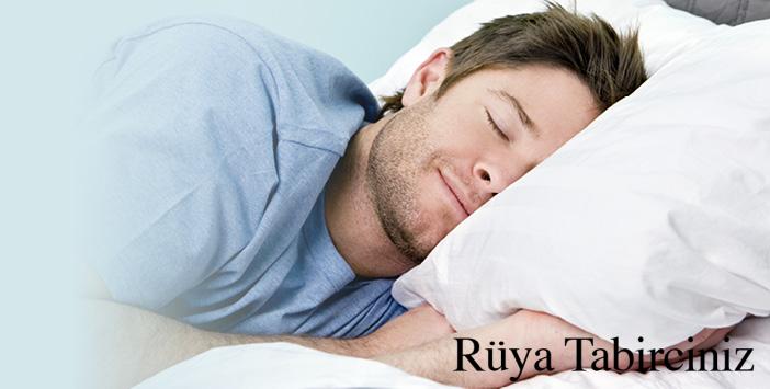 Rüyada yatmak görmek